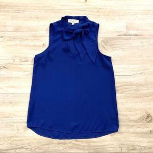 NWOT Sleeveless blouse *royal blue* colour